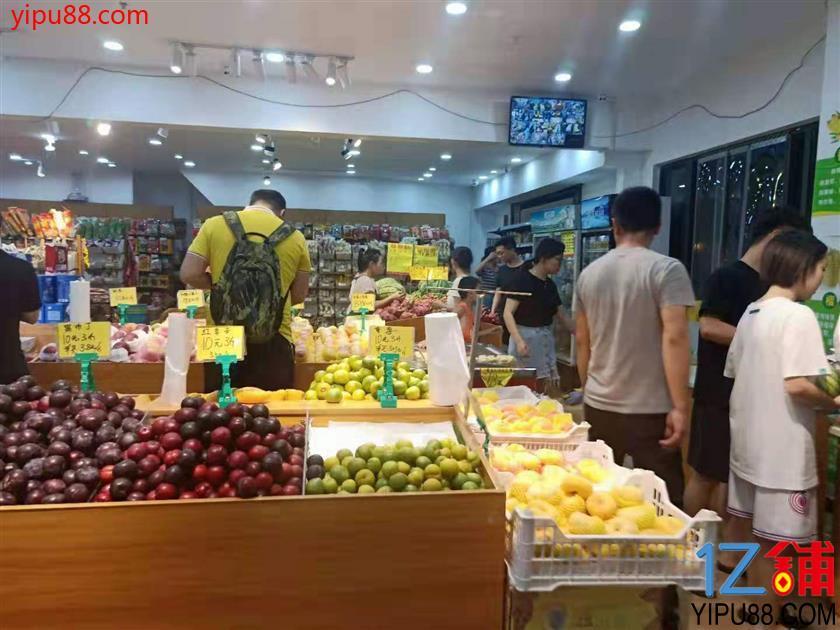 日均营业额过万品牌零食水果零售店转让
