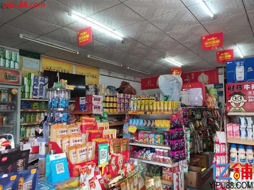 成熟小区出入口第一个门面160㎡超市转让(可空转)