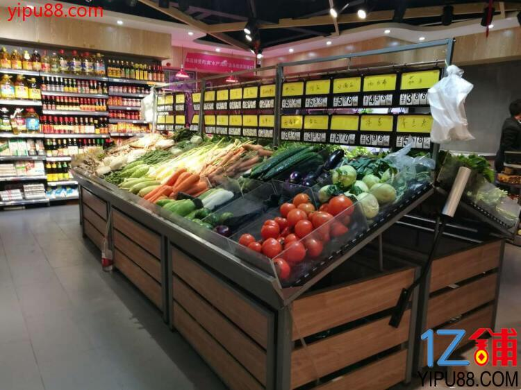 日营业额7500+客源稳定生鲜超市转让(可空转)