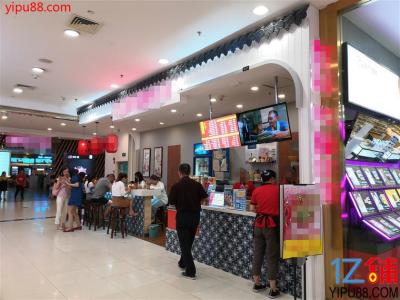 大型商场商业街18㎡小吃店转让!