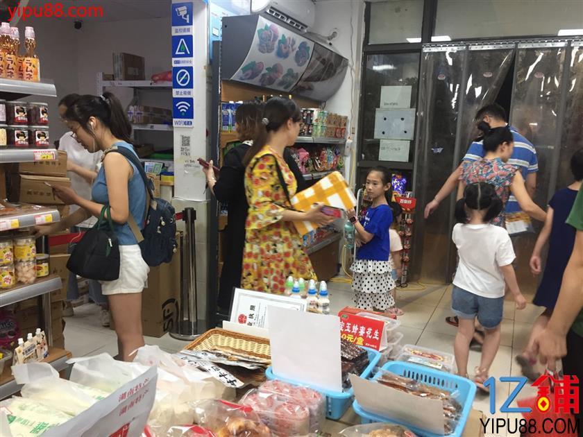 小区出入口80㎡零食超市+菜鸟驿站转让