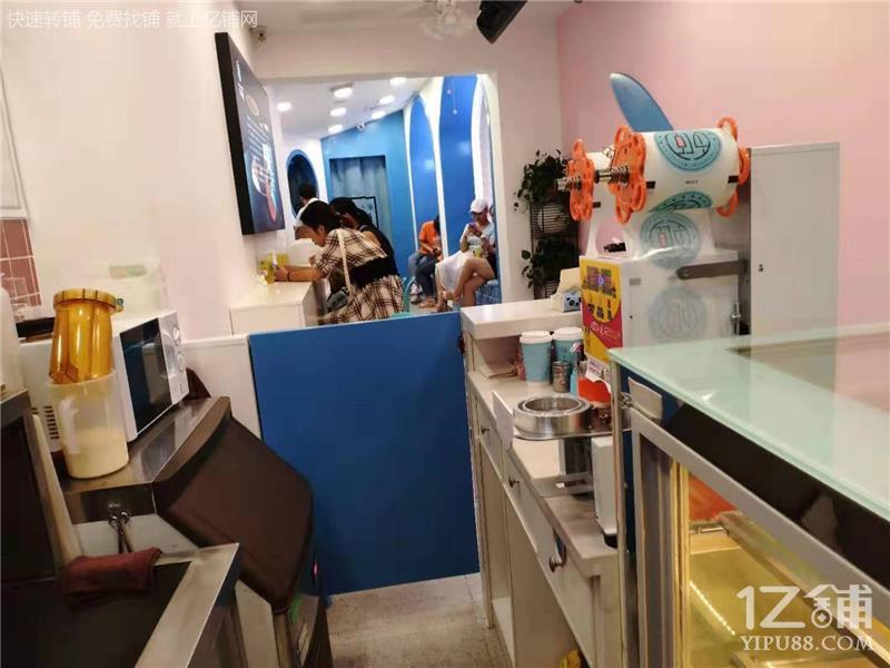 广电会展中心马栏山小学旁40㎡奶茶甜品店转让(可空转)
