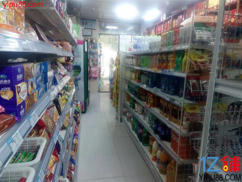 小区出入口第一家超市转让(可空转)
