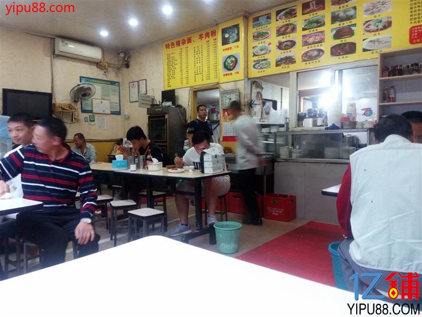 江北观音桥三通临街十年餐馆转让