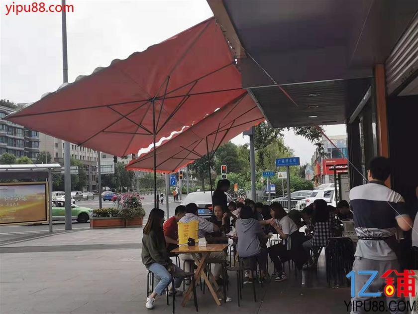 高升桥 十字路口 临街可外摆餐饮店 转让(全业态)