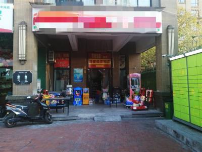 河西万人高档小区出入口110㎡旺铺超市转让