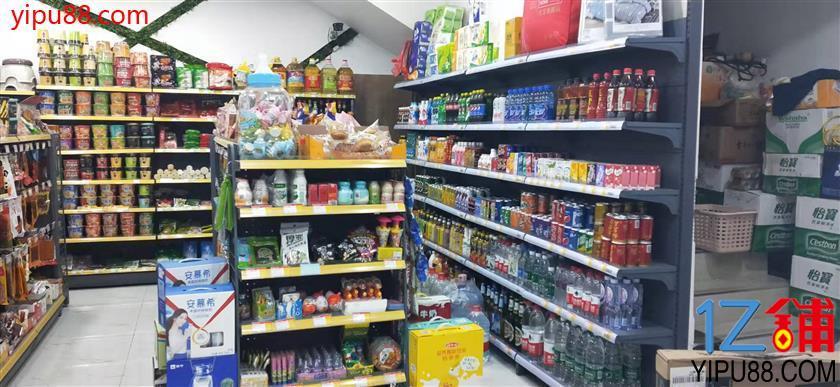 (捡篓子来)万人高档小区出入口110㎡旺铺超市转让
