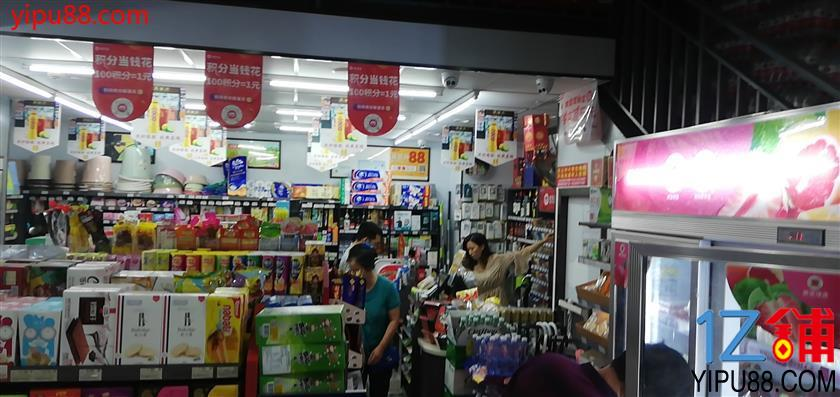 大型购物广场120㎡日营6000+超市转让