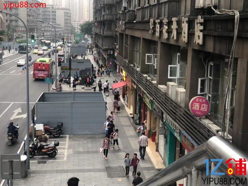 步行街公交车站店铺转让(带天然气)
