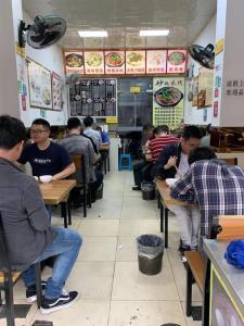锦江 大慈寺 写字楼附近 3年盈利小吃餐饮店转让!
