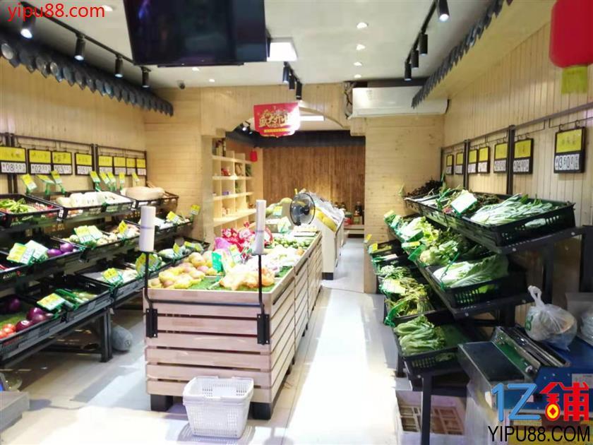 大型成熟小区独家140㎡生鲜店低价急转(可空转)