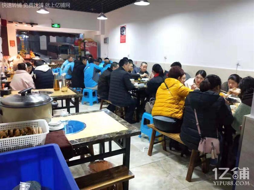大型社区餐饮店转让(可外摆)