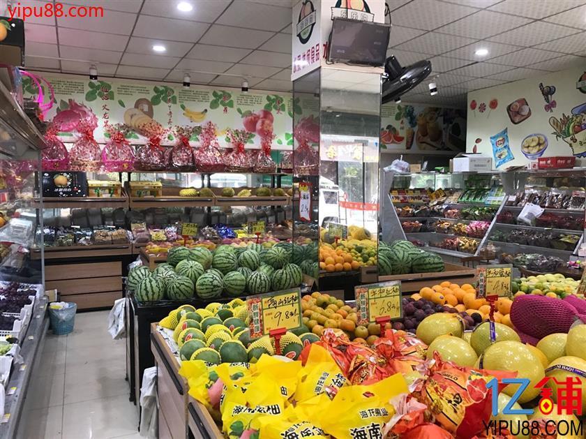 市中心双门头100㎡水果零食店转让(可空转)