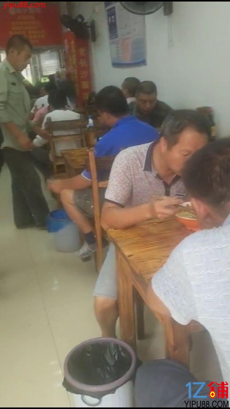 星沙荣盛花语社区入口120㎡老长沙餐饮店转让