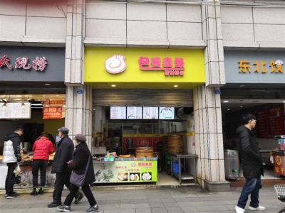 一环路 写字楼环绕 人流小吃店只给2万房租就甩了!