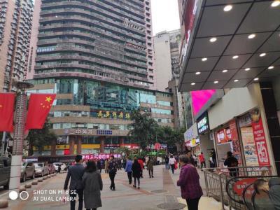 三峡广场临街旺铺白菜价1万转让!(一级口岸)