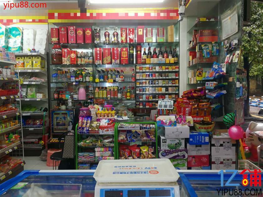 大型成熟社区门口超市转让(烟草证19档)