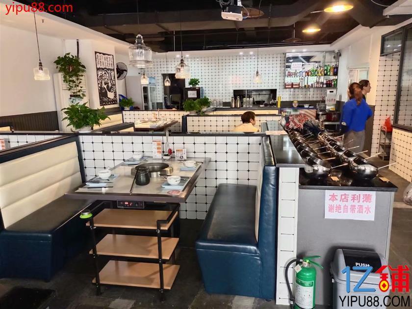 观音桥水电气三通餐饮店转让(可外摆)