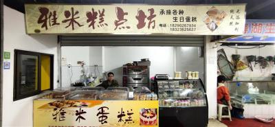 菜市场入口门面空转,有动力电和外摆位置