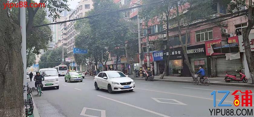 市中心  太升路   低房租临街  餐饮(大开间)