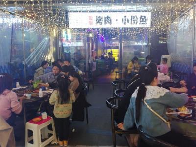 中坝 商业综合体 餐饮旺铺转让|(大外摆,动力电)