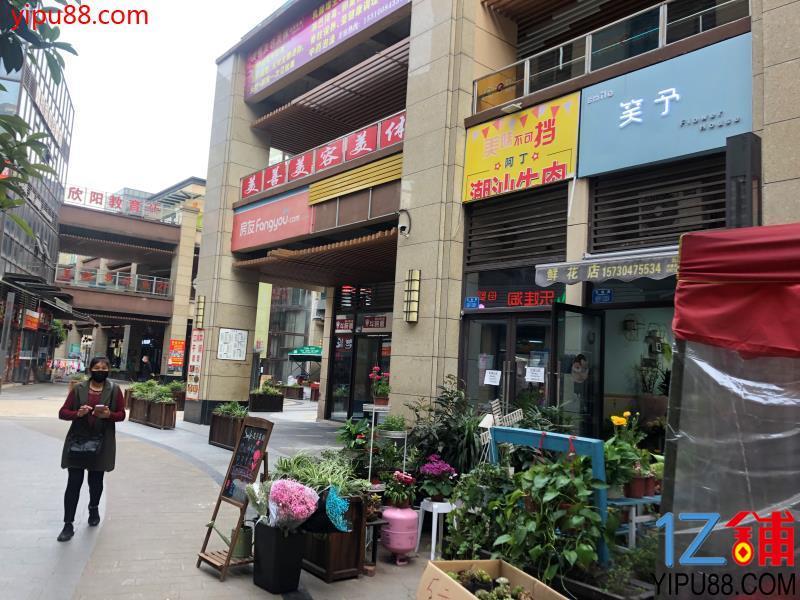 九龙坡大型成熟社区门口旺铺出租