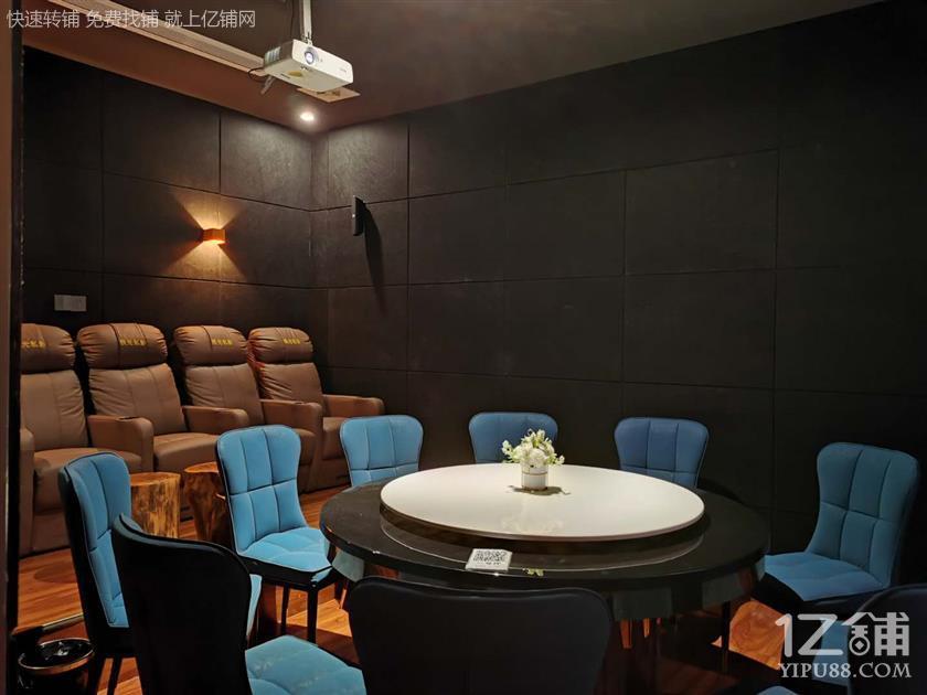 小河地铁口年利80万电影餐厅因事低价转租