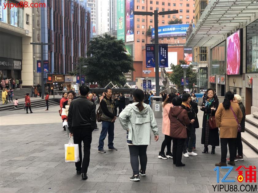 三峡广场20㎡优质旺铺转让(一级口岸)