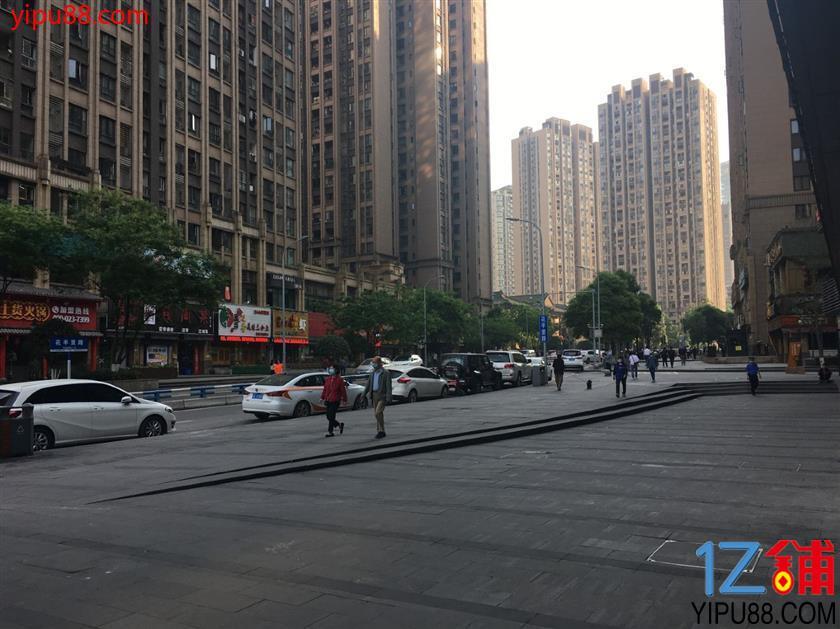 杨家坪商业街转角旺铺低价急转