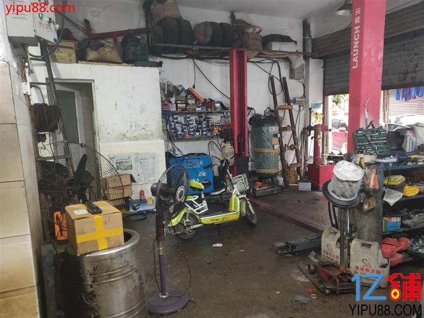 成熟社区十字路口8年老店100㎡汽修店转让