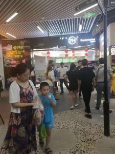 成华区 花园城 永辉超市门口小吃餐饮转让