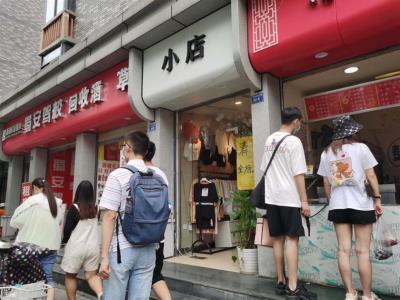 花牌坊 临街 5年凉粉锅盔小吃店 转让(带技术)