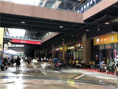 武侯区+商业街+写字楼+商超的消费群体 门面优价转让27㎡!
