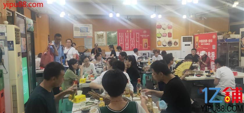 观音桥三通+外摆餐饮铺转让(日营业额10000+)