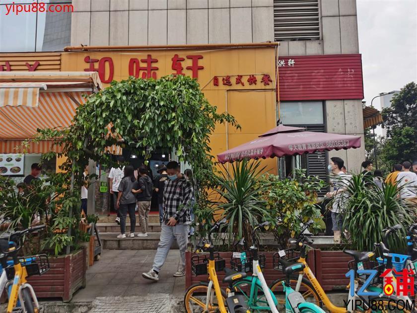 高新 孵化园 写字楼 转角处 快餐店转让!(流水6000+)