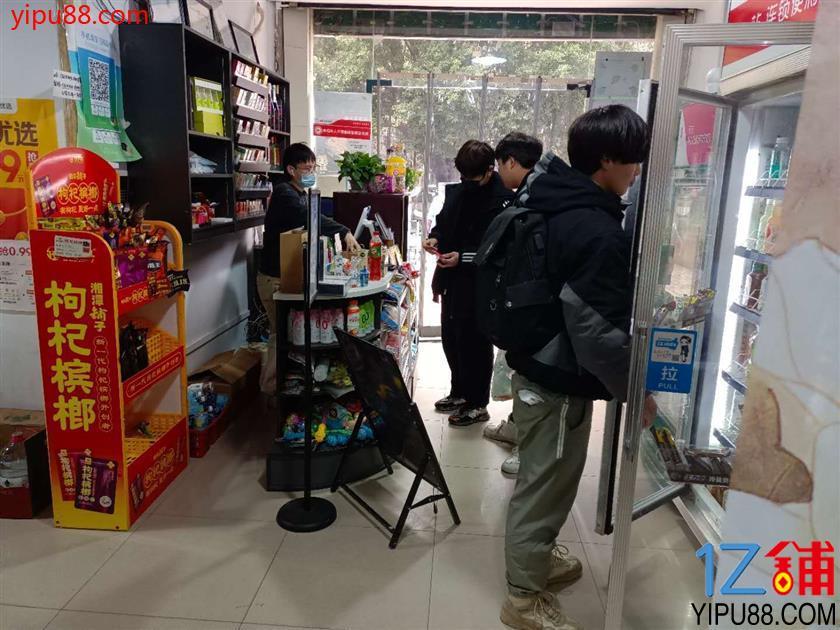 小区大门口菜鸟驿站+便利店转让