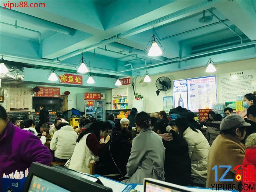 江北商业街+写字楼三通餐饮旺铺转让