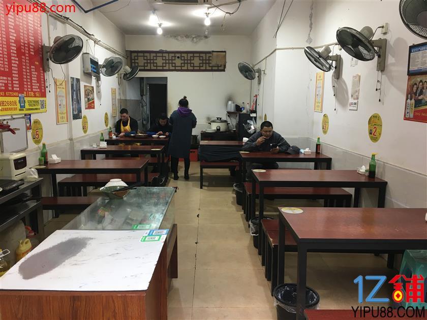 江北公交车站旁70平米餐馆转让