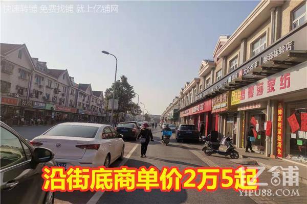 上海金山古镇沿街商铺紧急出售 带租约,即买即收租