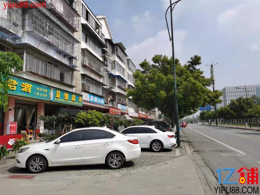 新都小区门口第一家  双门面  临街商铺转让,也可转租