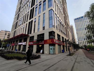 人民医院写字楼拐角快餐店、茶楼转让