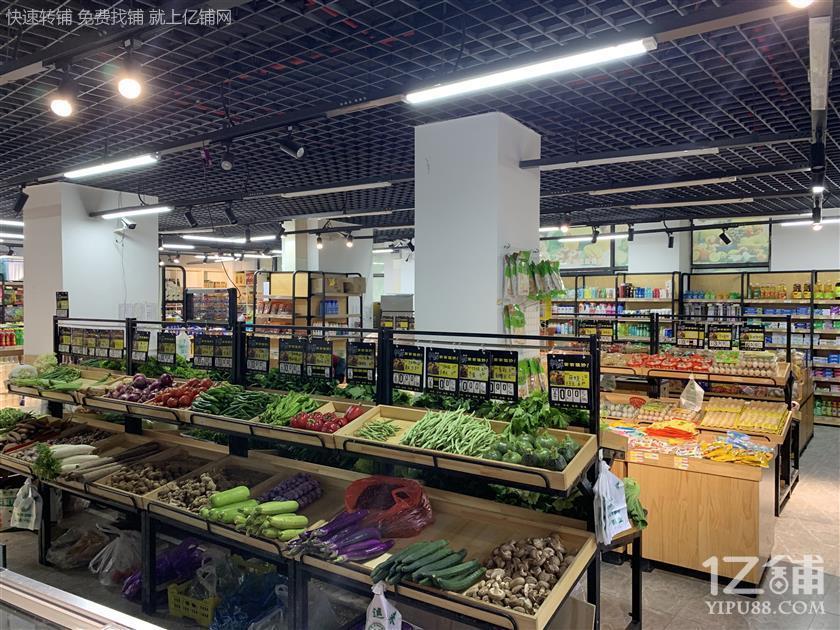 俊发城盈利生活超市转让