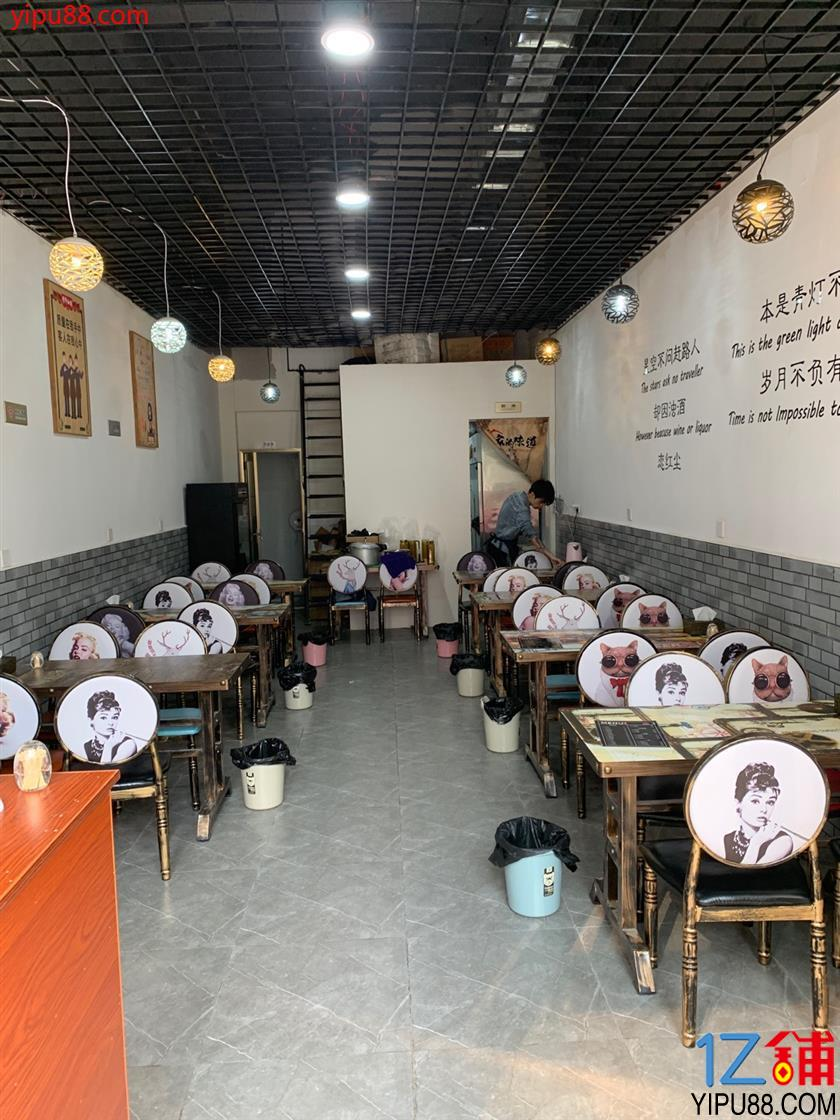锦江  2800户小区门口+1000人传媒公司  餐饮店转让