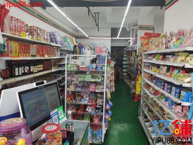 小区门口  盈利超市转让(证件齐全)