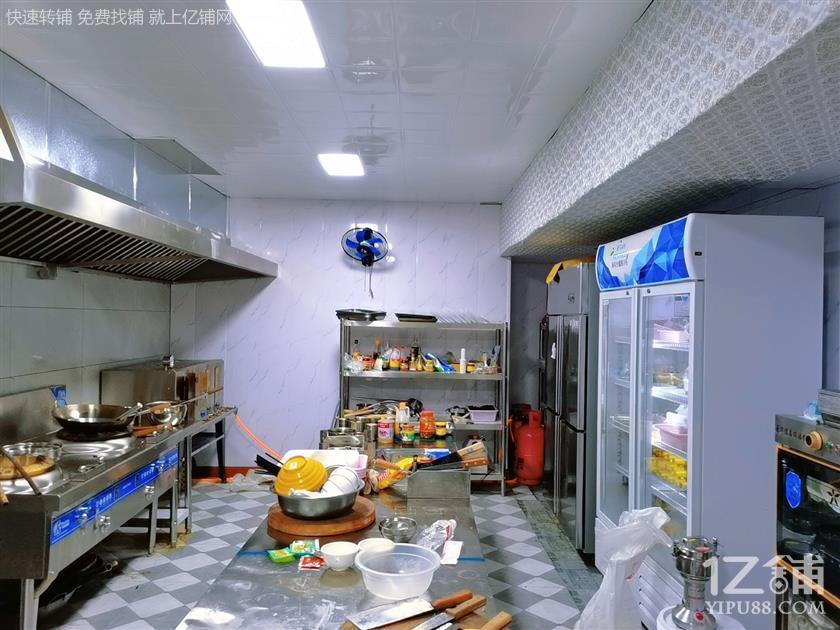 花果园兰花广场对面精装修烤鱼店转让